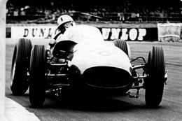 Grand Prix D'Angleterre 1960 -  Roy Salvadori (Aston Martin)  -  Carte Postale Modern Miniature - Grand Prix / F1