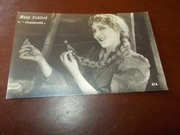 B713  Mary Pickford In Passerotti Non Viaggiata Cm14x9 - Attori