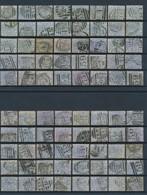 GRANDE BRETAGNE - COLLECTION DE 1480 TIMBRES OBLITERES AVEC CACHETS LONDON+PERFORES A ETUDIER TRES FORTE COTE - Collections