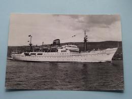 Paquebot SAN GIORGIO ( Adriatica Société De Navigation Venise ) Anno 19?? ( Zie Foto Voor Details ) ! - Dampfer