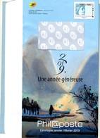 2019 PAP Phil@poste Catalogue Janvier-Février - PAP: TSC Und Halboffizielle Aufdrucke