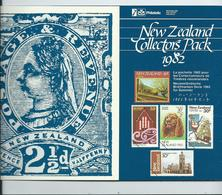 1982 Full Year Pack One Minisheet In This Pack.  All Mnh - New Zealand