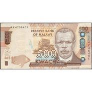 TWN - MALAWI 66a - 500 Kwacha 1.1.2014 Prefix AX UNC - Malawi