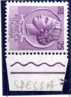 XP3757 - REPUBBLICA 1955 Siracusana , 25 Lire Stelle II° Carta Spessa ** - 6. 1946-.. Repubblica