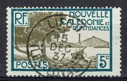 "New Caledonia, ""Pointe Des Palétuviers"", 5c., 1928, VFU   Awesome Cancellation From LIFOU, ILES LOYAUTE - New Caledonia"