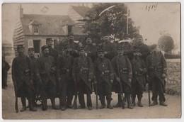 Carte Photo Militaria 1914 Poilus Du 23 ème Régiment D'infanterie à Caen - Caen