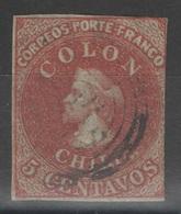 Chili - YT 4 Oblitéré - 1855 - Chili