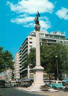 1 AK Uruguay * Hauptstadt Montevideo - Libertad Square (auch Plaza De Cagancha) - Mit Der 1867 Errichteten Friedenssäule - Uruguay