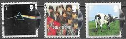 GB - Pink Floyd  - Adhésifs - Oblitérés - Lot 1161 - 1952-.... (Elizabeth II)