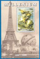 MILLENIUM 1999 Mint Block MNH(**)  Panting Napoleon - Fantasie Vignetten