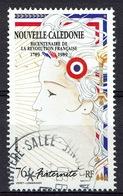 New Caledonia, Fraternity, 1989, MNH VF, Airmail Superb Postmark From Rivière-Salée (Nouméa) - Airmail