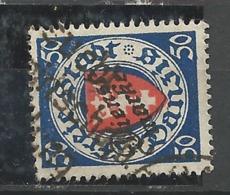 "Danzig Duty Stamps 1924 Mi.Nr.: 50 Coat Of Arms ""Dienstmarke"" 50 Pfg Cancelled O - Dantzig"