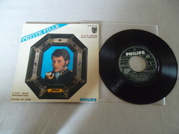 VINYLE 45 T JOHNNY HALLYDAY PETITE FILLE PHILIPS 437 371 BE - 45 T - Maxi-Single