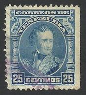 Venezuela, 25 C. 1904, Sc # 234, Used. - Venezuela