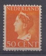 Pays-Bas 1946  Mi. Nr: 451 Königin Wilhelmina  Neuf Sans Charniere / MNH / Postfris - Period 1891-1948 (Wilhelmina)