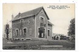 PLAGNY  (cpa 58)  Hôtel Du CLOS-RY  ##  RARE  ##   -  L 1 - Other Municipalities