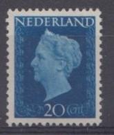 Pays-Bas 1947  Mi. Nr: 484 Königin Wilhelmina  Neuf Sans Charniere / MNH / Postfris - Period 1891-1948 (Wilhelmina)