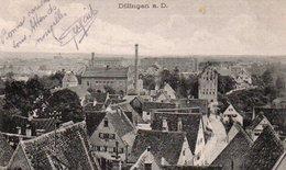 91Md   Allemagne Dillingen A D. Geprüft Prisonniers De Guerre Cachet - Dillingen