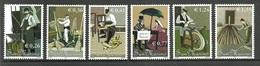 SAN MARINO 2002 CRAFTS METALLURGY SET MNH - Solomon Islands (1978-...)