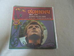 VINYLE 45 T JOHNNY HALLYDAY HEY JOE 437304 Be - Rock