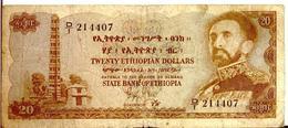 ETHIOPIA P. 21 20 D 1961 G - Ethiopia