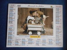 """ALMANACH Du FACTEUR Double 1999 """"ENFANTS - Sylvia MURRAY"""" - Calendriers"""