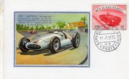 San Marino  -  Carte Postale  -  Mercedes - Grand Prix D'Allemagne 1939 -  Pilote: Caracciola - Grand Prix / F1