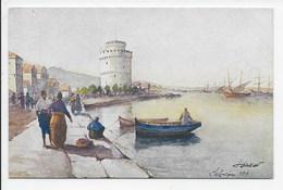 Salonica - The White Tower - Color (Paris) 239 - Griechenland