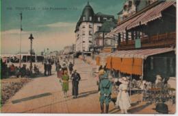 CALVADOS-Trouville-Les Planches (colorisé) LL 395 - Trouville