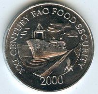 Panama 1 Centesimo 2000 FAO Canal UNC KM 132 - Panama