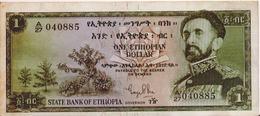 ETHIOPIA P. 18a 1 D 1961 VF - Ethiopie