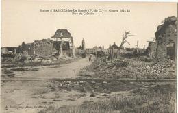 Ruines D'HAINES-les-La Bassée - Rue Du Calvaire - Altri Comuni