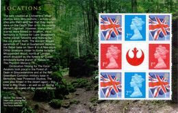 Great Britain 2015 St Pane Ex STAR WARS Psb Cat. £11,00 - 1952-.... (Elisabetta II)