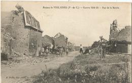 Ruines De VIOLAINES - Rue De La Mairie - Altri Comuni