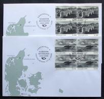 Denmark 2008 NORDEN    Nordic Mythology MiNr.1495-96   FDC  ( Lot  6637) - FDC