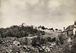 CPSM  Grand Format COUCY LE CHATEAU ( Aisne ) Le Chateau (XIIIe S) Les Remparts Au Sud RV - France