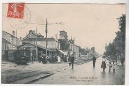 Cpa 92 Rueil- Avenue De Paris Gare Rueil-Ville ( Tramway ) - Rueil Malmaison