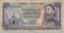 ETHIOPIA P. 23b 20 D 1961 G - Ethiopie