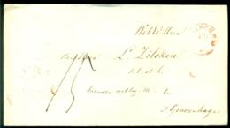 Nederland Voorfilatelie Brief Binnen Den Haag - Niederlande
