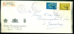 Nederland 1962 Speciale Aangetekende Envelop Benelux-Postzegeltentoonstelling Met NVPH 777-778 - 1949-1980 (Juliana)