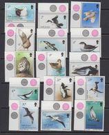 South Georgia 1987 Definitives / Birds 15v  (+margin) ** Mnh (41717) - Zuid-Georgia