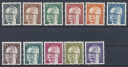 Duitsland/Germany/Allemagne/Deutschland 1970 Mi: 635-645 Yt:  (PF/MNH/Neuf Sans Ch/nuovo Senza C./**)(3969) - [7] West-Duitsland