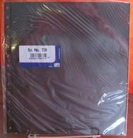 I.D. - Feuilles GARANT - 1 POCHE Fond Noir - REF. 731 (5) - Albums & Reliures