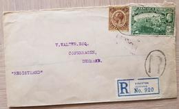 Jamaica Kingston REC 1919 To Denmark - Jamaica (1962-...)
