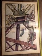 PARIS 1900 LA PEINTURE DE LA  TOUR EIFFEL - Alte Papiere