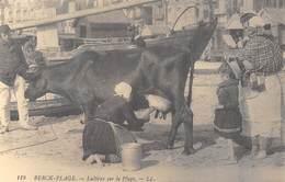 Berck-Plage - Laitière Sur La Plage - Traite - Vache - Cecodi N'759 - Berck