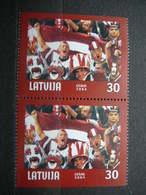 World Championship In Ice Hockey # Latvia Lettland Lettonie # 2004 MNH #Mi. 610DoDu - Latvia