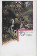AK 0140  Gruss Von Den Mira-Fällen ( Myrafälle Bei Muggendorf ) / Verlag Binder Ca. Um 1900 - Wiener Neustadt