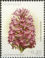 Portugal 2003 (MNH) -  Pyramidal Orchid (Anacamptis Pyramidalis) - Orchidées