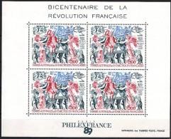 T.A.A.F Terres Australes 1989 Yvertnr. Bloc 1 *** MNH Cote 12,50 Euro - Blocs-feuillets